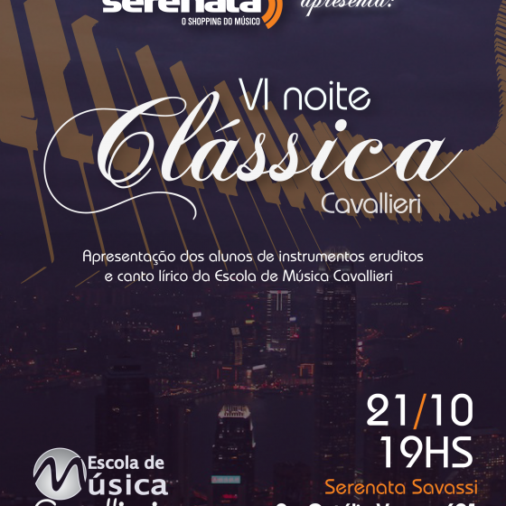 noite classica 21-10-16